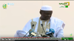 Devant Aziz, le discours de Balas fait des jaloux chez les négro-mauritaniens...