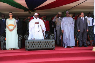Tout s'explique : Yahya Jammeh l'héritier des baassistes mauritaniens...