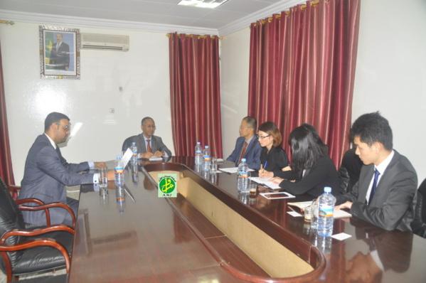 Visite à Nouakchott d'une délégation de la banque chinoise Exim Bank