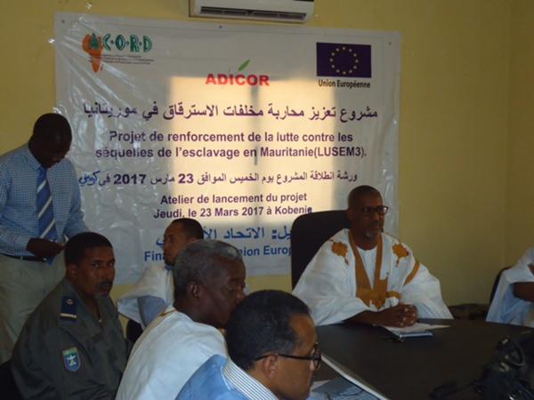 Union Européenne/ACORD-Mauritanie : Lancement à Kobeni du projet de renforcement de la Lutte Contre les Séquelles de l'Esclavage