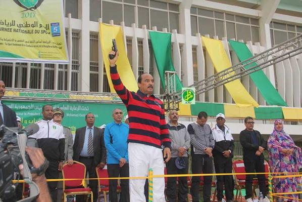 Le Président de la République donne le coup d'envoi de la journée nationale des Sports