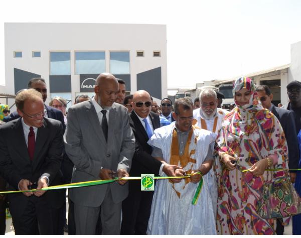 Inauguration de la Société Mauritanienne d'Automobile et d'Equipements