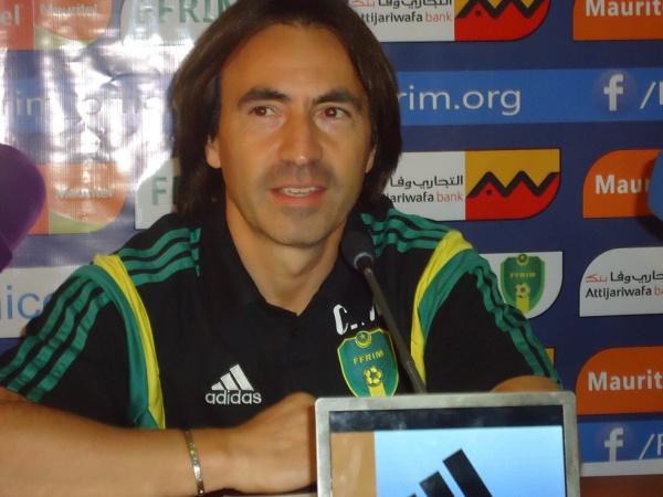 """Corentin Martins à RimSport.net : """"J'ai envie de faire progresser les Mourabitoune et d'arriver à la qualification"""