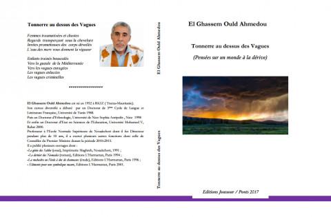 """""""Tonnerre au dessus des Vagues"""" d'El Ghassem Ould Ahmedou: Un essai poétique ou un poème cognitif?"""