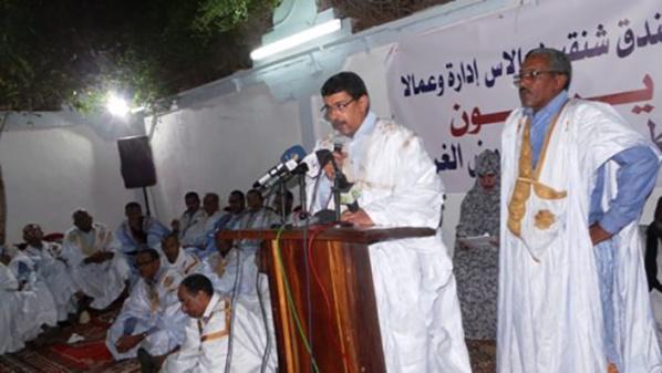 Le président de l'UPR appelle les cadres du Hodh El Gharbi à soutenir les amendements constitutionnels