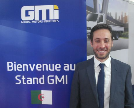 Hamza Remache (Directeur Marketing et Communication de Global Motors Industries) :