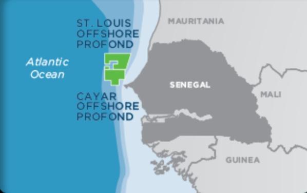 Kosmos annonce la découverte d'un important gisement de gaz sur le puits Cayar