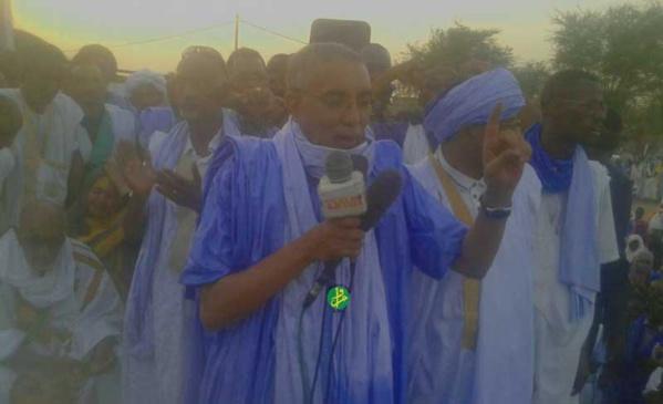Le Premier Ministre réaffirme à Djigueni que la fausse propagande ne découragera pas les Mauritaniens à voter en faveur des amendements constitutionnels