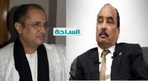 Première apparition du président du sénat à coté du président Aziz après le vote sanction des sénateurs