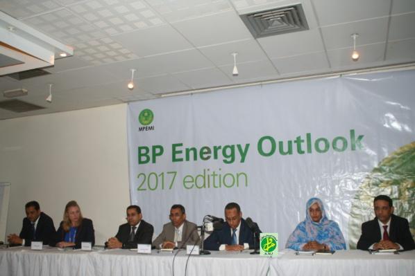 Rencontre de présentation de la société British Petroleum