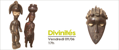 """Galerie Sinaa : exposition """" divinités"""" le 9 Juin"""