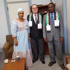 Biram reçu par un député canadien