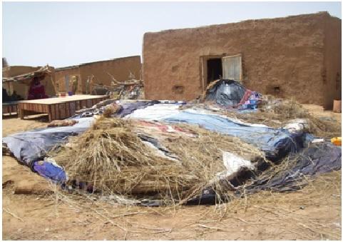 7 blessés et 53 hangars détruits suite à une tempête qui a fait rage à Zreigat au Guidimakha