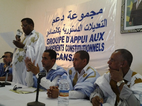 Nouvelle initiative d'appui aux amendements constitutionnels