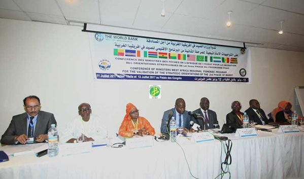 Ouverture d'une réunion préparatoire du forum des ministres de la pêche des pays de l'Afrique de l'Ouest