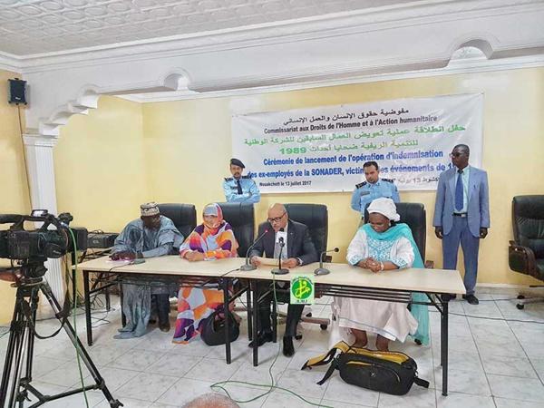 Mise en œuvre de la dernière phase du « dossier du passif humanitaire en Mauritanie
