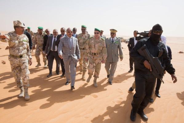Atmosphère à propos d'Aziz, Ghazouani et l'ambassadeur de France