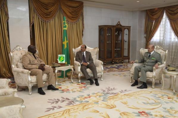 Le Président de la République reçoit le chef d'Etat-major sénégalais