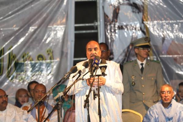 Le Président de la République préside le premier meeting de la campagne du référendum constitutionnel du 5 août prochain.