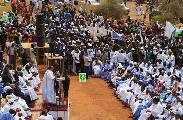 Le Président de la République affirme dans un important discours à Kaédi que ceux qui l'ont élu pour renforcer l'unité du pays et garantir sa sécurité et sa prospérité ne se laisseront pas tromper par ceux qui propagent les mensonges