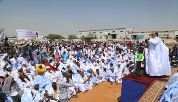 Le président Aziz : «Kaédi accueillera les festivités de l'indépendance nationale»