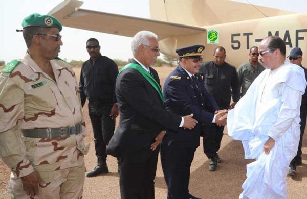 Le Président de la République arrive à Kiffa