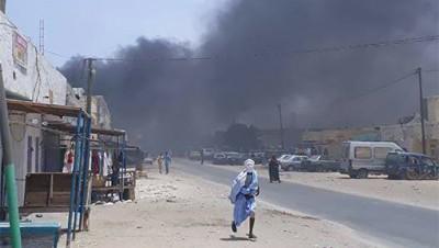 """Une marche de l'opposition démocratique mauritanienne """"réprimée"""" à Toujounine (EN IMAGES)"""