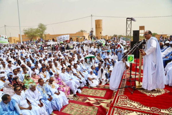 Le Président de la République annonce à Akjoujt le lancement de plusieurs projets en Inchiri avant la fin de l'année