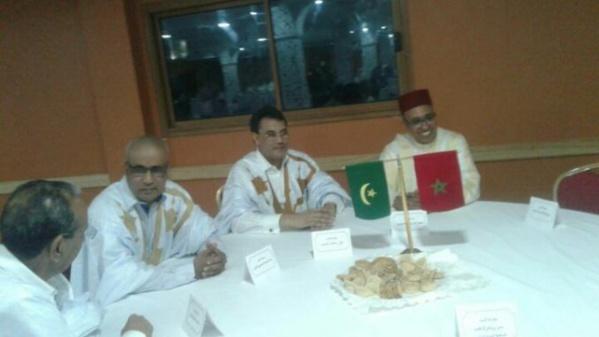 NOUADHIBOU : à l'occasion de la fête du Trône, le consulat du Maroc organise une grande réception