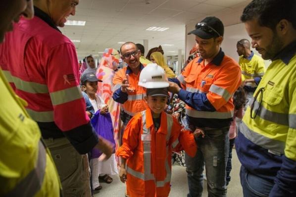 La mine de Tasiast accueille des familles d'employés
