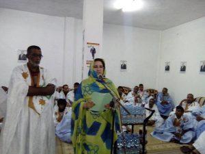 Nouadhibou : la sénatrice pour le « oui » aux réformes et pour la dissolution de la chambre haute