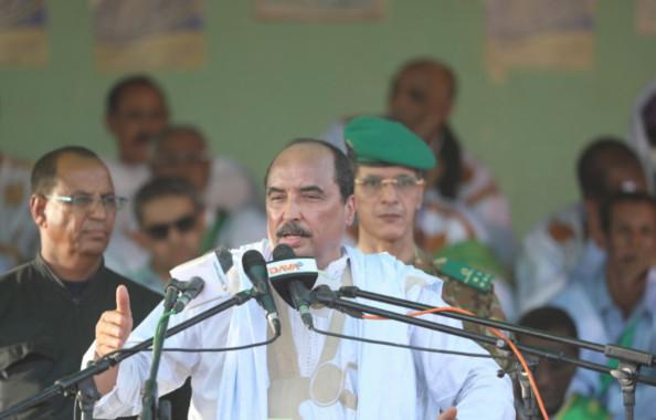 Mauritanie : le président AZIZ critique à nouveau l'opposition de son régime