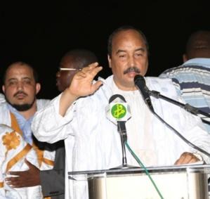 Aziz dément depuis Nouadhibou une fois de plus l'idée d'un troisième mandat