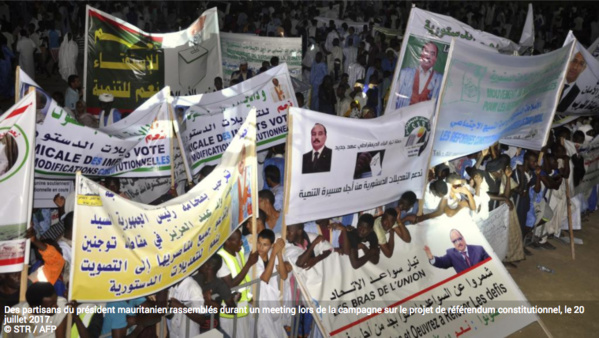Référendum en Mauritanie: les modalités du scrutin