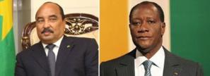 Le Président de la République félicite le Président ivoirien