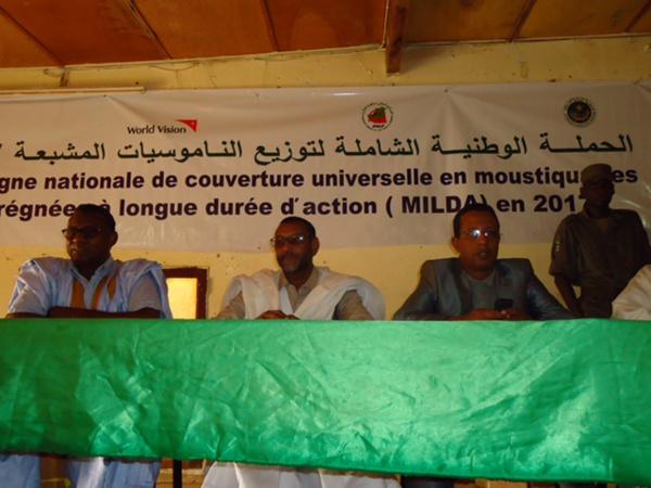 Lutte contre le paludisme : Lancement à Aioun de la campagne de distribution des MILDA