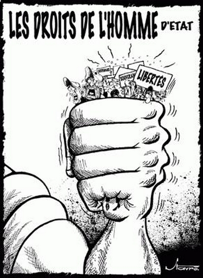 COMMUNIQUE DE PRESSE N°1: Situation des droits humains et des libertés démocratiques en Mauritanie.Empêchement de la rencontre prévue ce samedi 30 septembre au Café de Rome