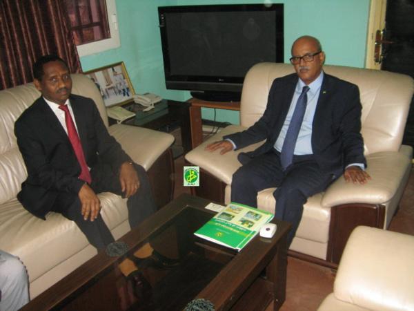 Le commissaire aux droits de l'homme reçoit l'ambassadeur soudanais