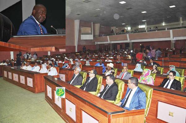 Ouverture de la Première session parlementaire ordinaire pour l'année 2017-2018