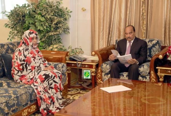 Le Président de la République reçoit le rapport annuel de la commission nationale des droits de l'homme