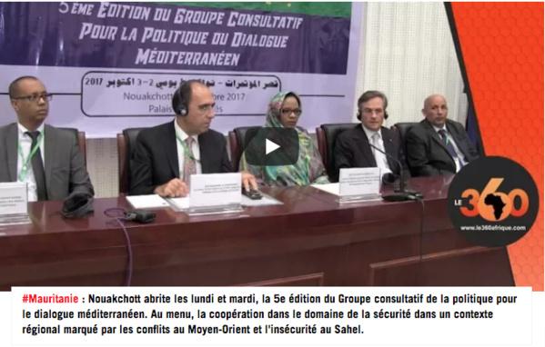 Vidéo. Mauritanie: la sécurité au menu d'une rencontre entre l'OTAN et des pays méditerranéens
