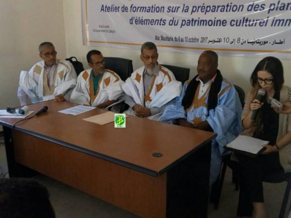 Formation sur l'élaboration des plans de protection des éléments du patrimoine culturel immatériel