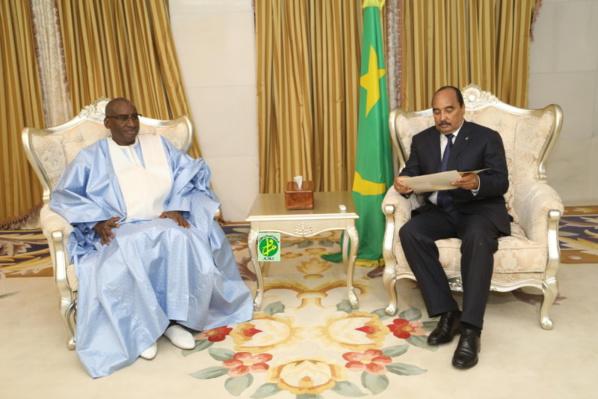 Le Président de la République reçoit un envoyé spécial sénégalais