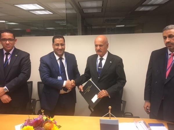 Signature d'un accord de prêt de 7 milliards d'ouguiyas entre notre pays et le Fonds de l'OPEP pour le développement