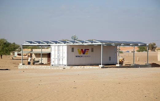 Focus projet : Winch Energy et l'électrification off grid en Mauritanie