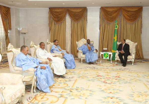 Le Président de la République reçoit le président et les membres du bloc de la citoyenneté