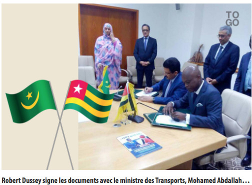Accord OpenSky entre le Togo et la Mauritanie