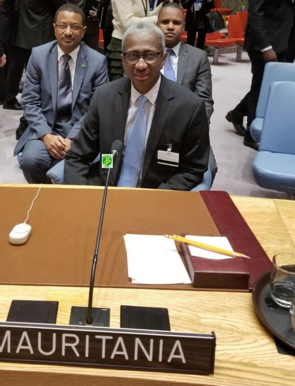 Le ministre de la Défense nationale participe à la réunion du conseil de Sécurité sur la paix et la Sécurité en Afrique