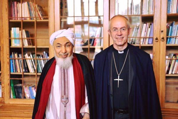 Le Mauritanien Abdellah Ould Bih rencontre Justin Welby à Londres.