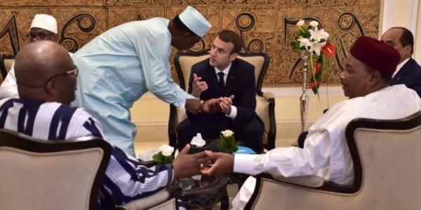 La France réaffirme son appui au G5 Sahel